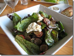 Crows Pass Farm Greens Salad