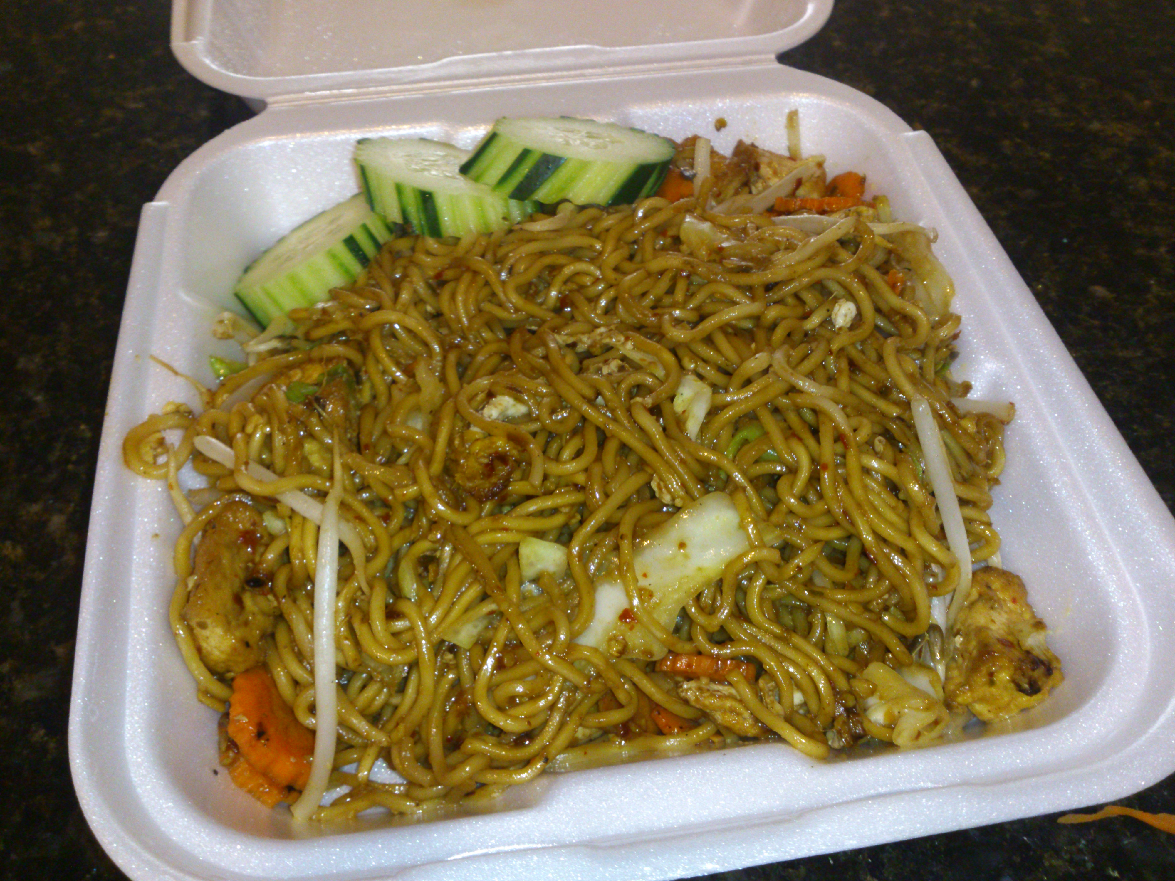 Stir Fried Noodles With Bean Sprouts Egg Noodles Stir Fried