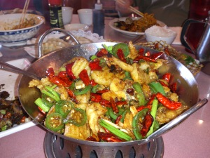 Deep Fried Fish w/ Dry Red Pepper